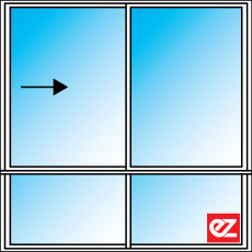 Ez Windows Sliding Window 2 Light 600T