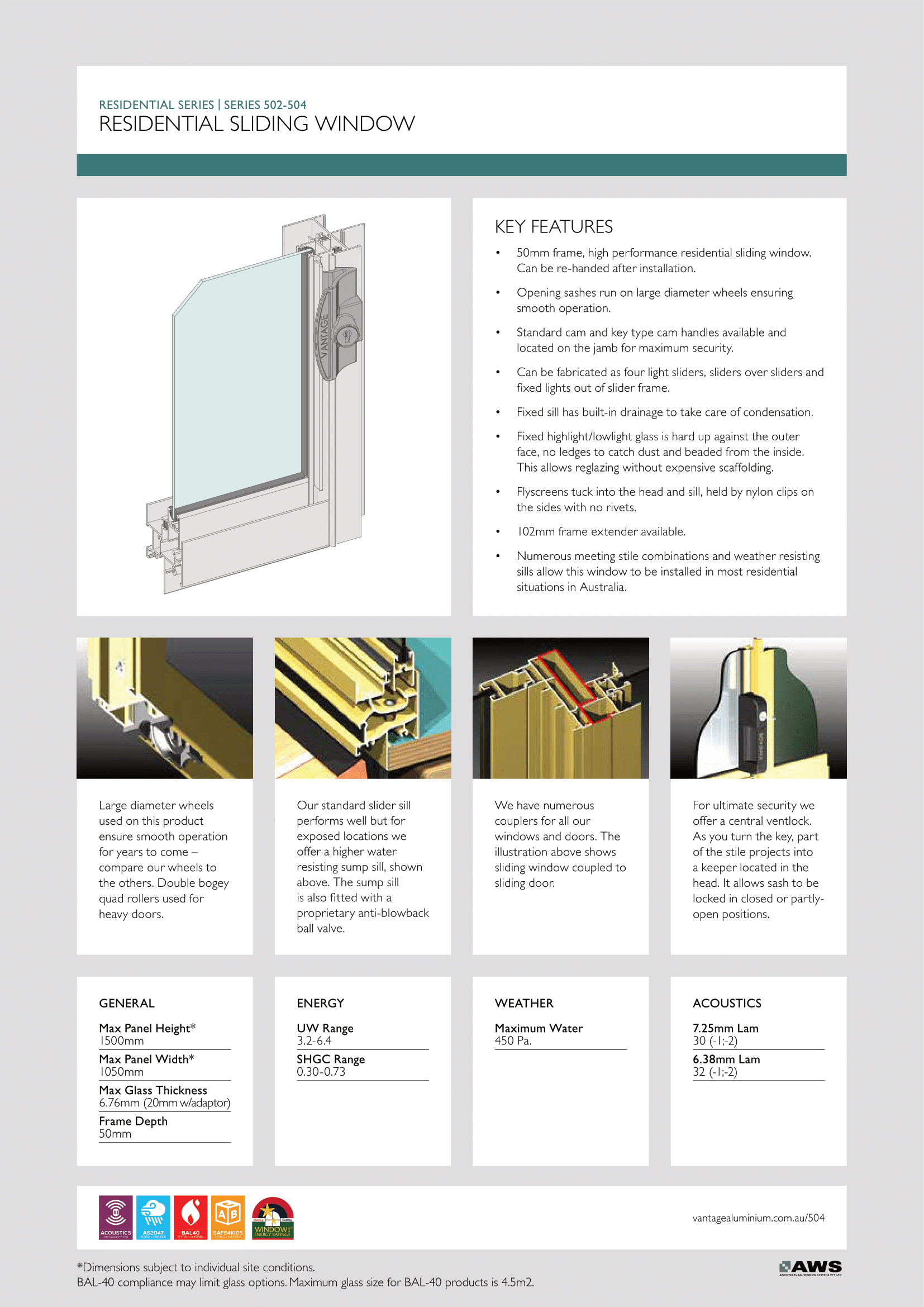 EZ Windows Residential Sliding Window