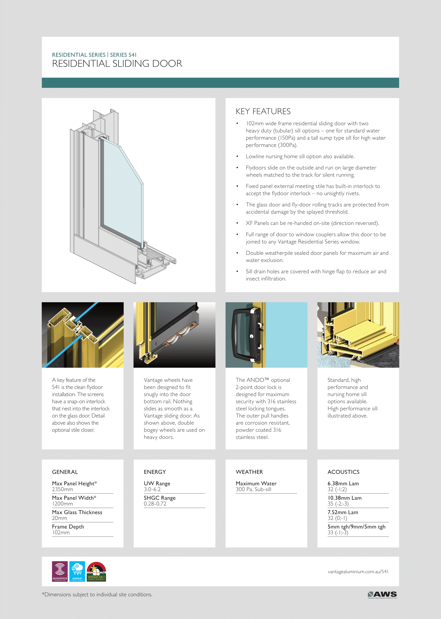 EZ Windows Residential Sliding Door