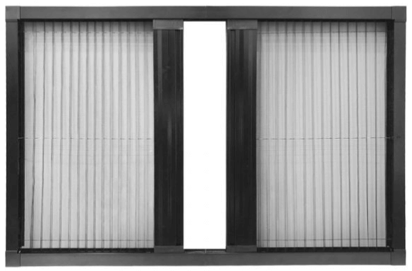 Pleated Flyscreen Double